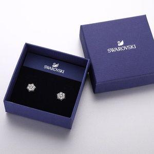 Swarovski Magic Pierced Earrings, White